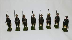 Britains set #227 U.S. Infantry (Doughboys)