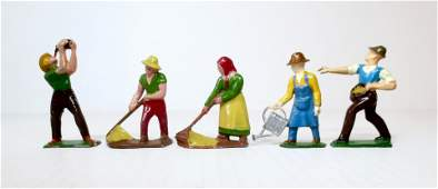 French Dimestore Farm Figures