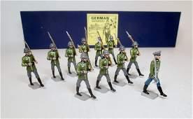 Hiriart WW2 German Infantry on Parade