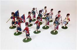 Britains Black Watch Colour Party Pipes  Drums