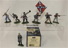 Britains Lot General Lee Confederate Infantry