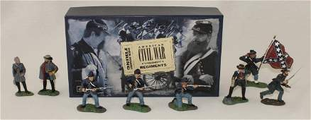 Britains Lot ACW Generals and Union Infantry