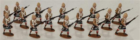 Trophy Lot Cameron Highlanders Advancing