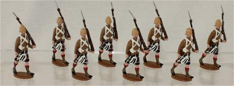 Trophy Lot Cameron Highlanders Marching