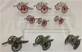 Lot American Dimestore Cannons