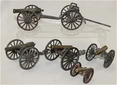 Large Cast Iron Cannon Assortment