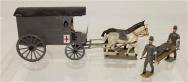 Mignot ACW Confederate Horse Drawn Ambulance