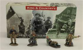 King  Country Set German Army Fighting