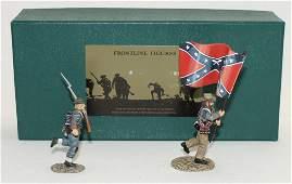 Frontline Set 38th Alabama Regiment Flag Bearer