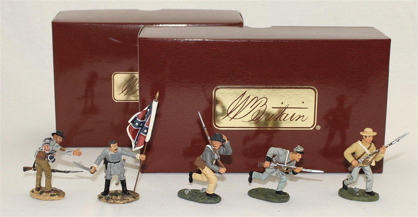 Britains Lot 26th North Carolina Regiment