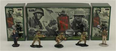 Britains Lot Churchill and British Paratroopers