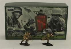 Britains Set British Paratrooper Bren Gun Team