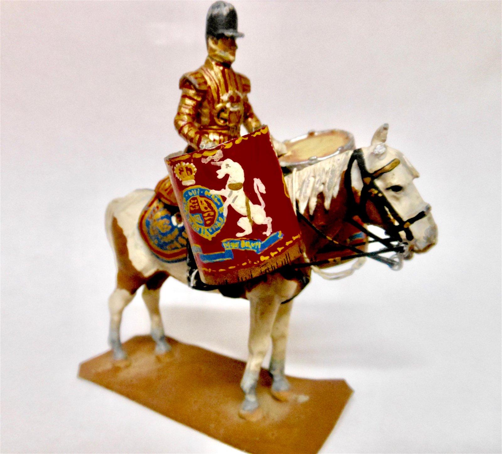 Stadden Household Cavalry Kettle Drummer