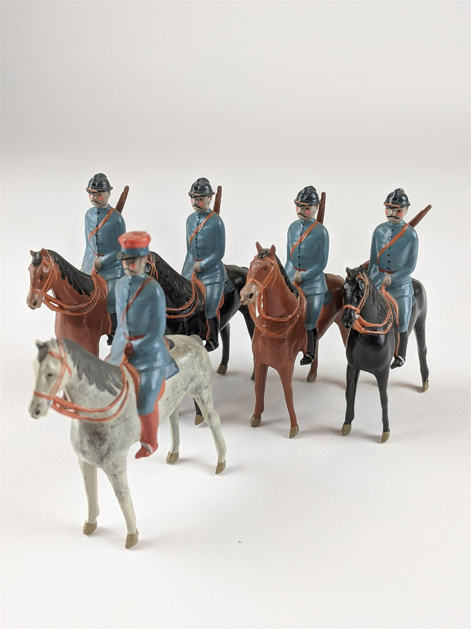 Bill O'Brien Special Paint WWI French Mounted