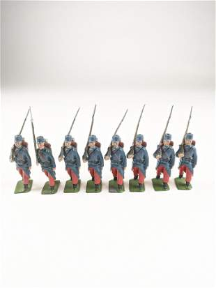 Britains 141 French Infantry Of The Line Pre War