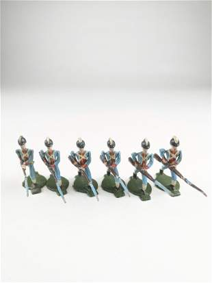 Comet Lafayettes Troops Charging