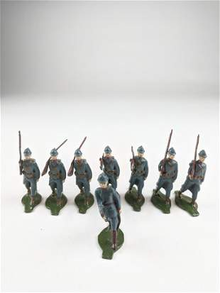 Comet French Infantry Marching