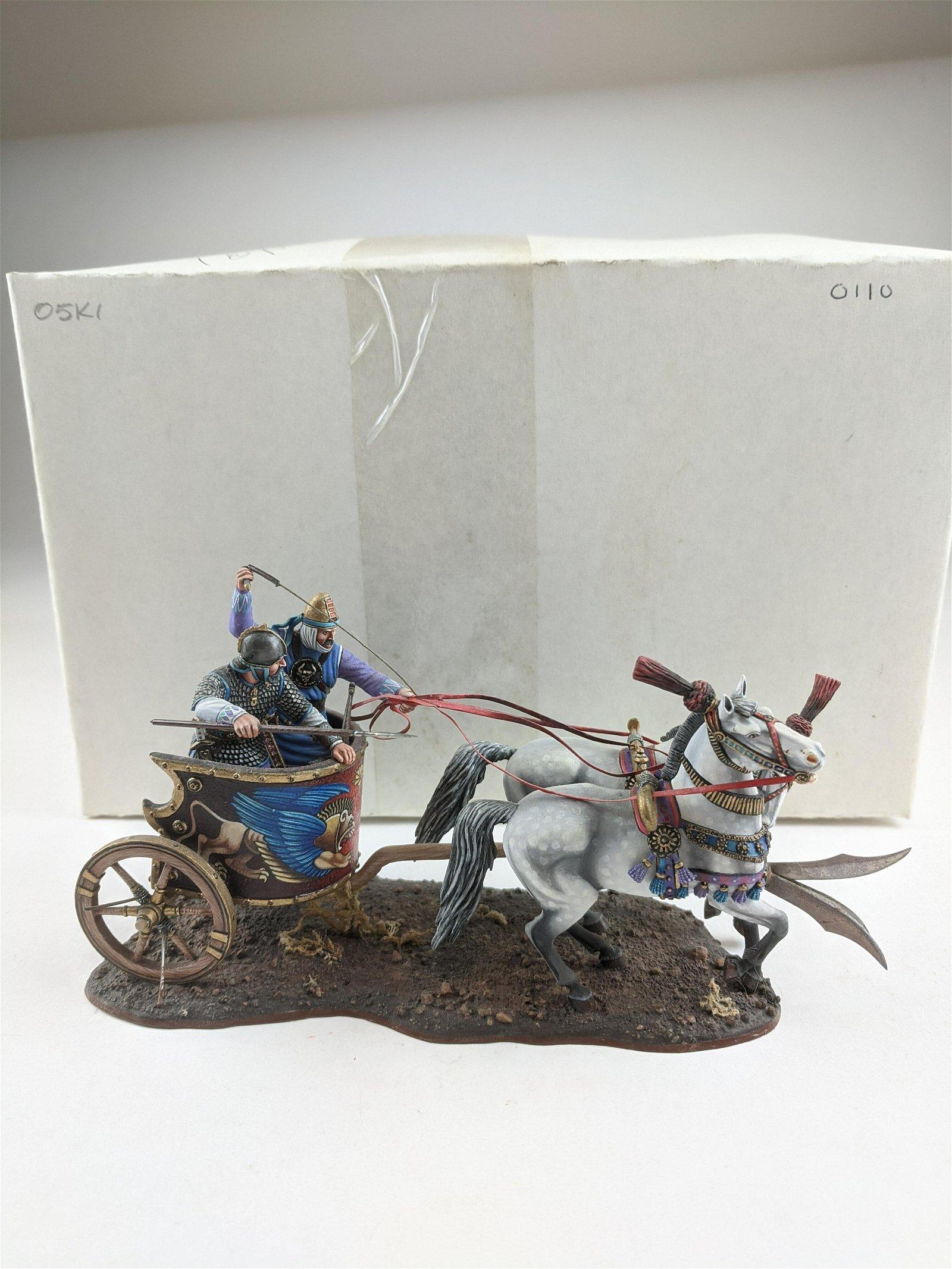 Russian Studios #0110  Persian Ornate Chariot