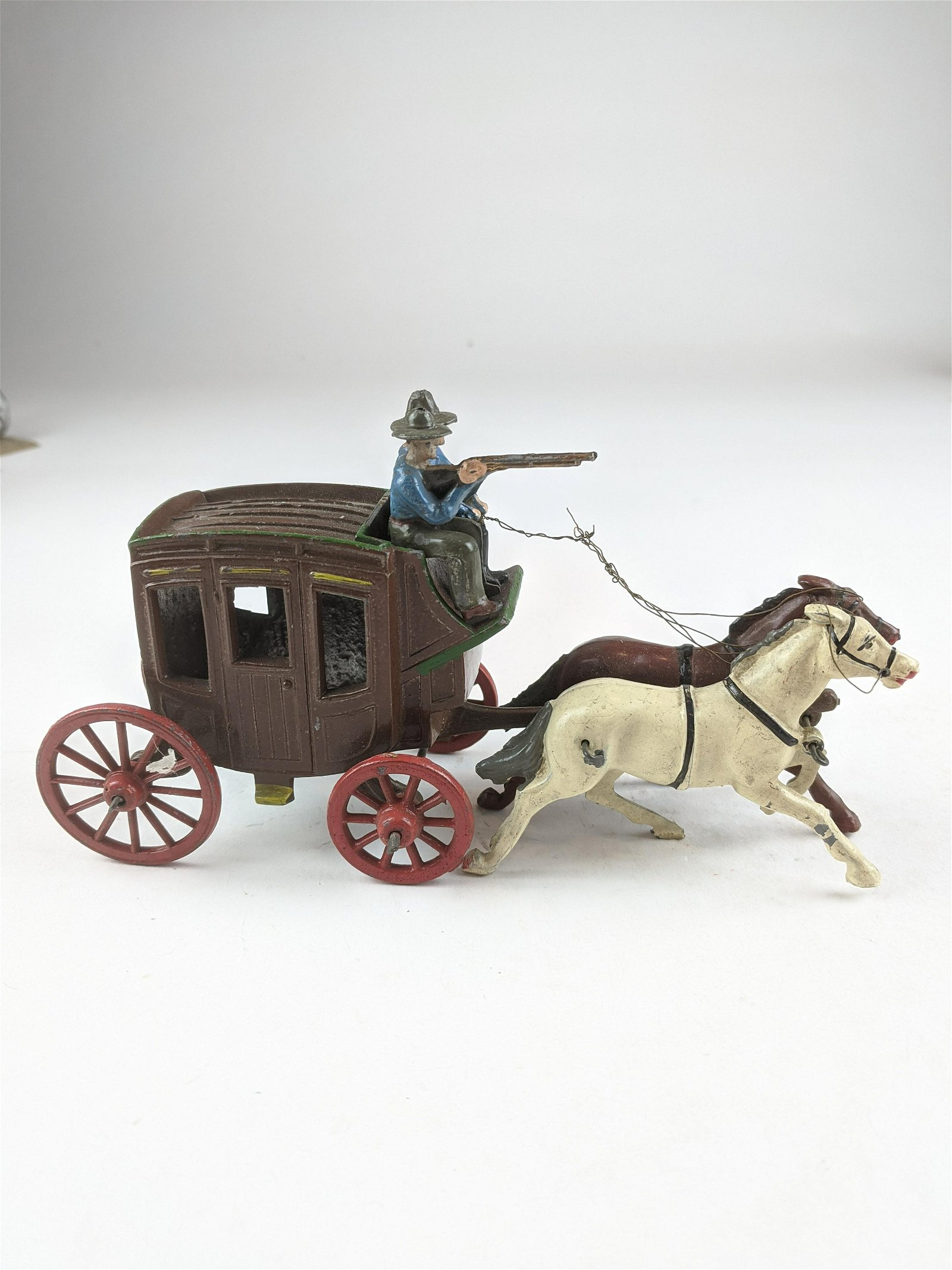 J. Hill Stagecoach In Red