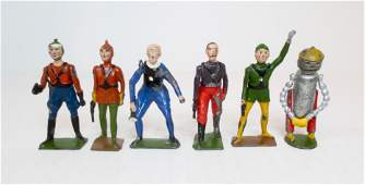 Britains VERY RARE Buck Rogers Complete Series