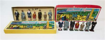 Japan Railroad Figures Boxed Sets