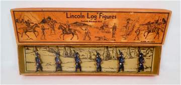Lincoln Logs Soldiers of 1812 Boxed Set