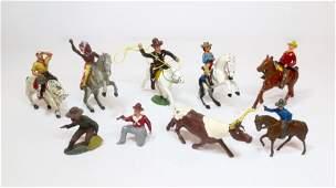 Assorted Wild West Figures
