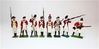 Jones Array of Redcoats