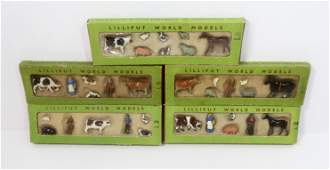 Britains Lilliput World Models Farm Sets