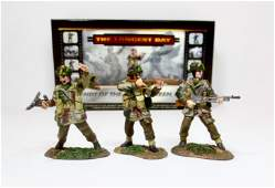 Conte #47098 British Paratroopers Advancing Set