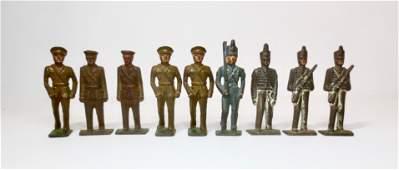 Grey Iron Military Figures
