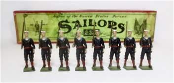 Britains 230 US Sailors Blue Jackets