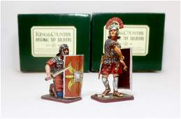 King  Country Roman Empire Figures