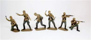 Elastolin Plastic WW2 German Army Figures