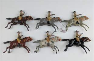 Britains #6 Boer Cavalry Slouch Hats