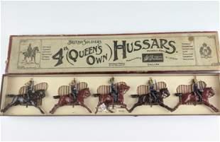 Britains #8 Queens Own Hussars