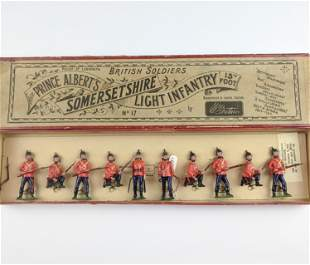 Britains #17 Somersetshire Light Infantry