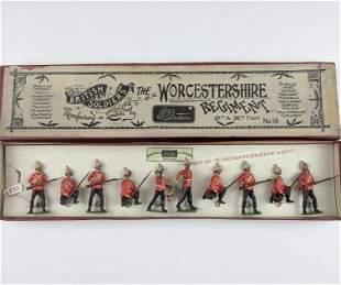 Britains #18 Worcestershire Regiment