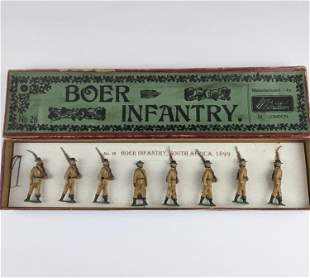 Britains #26 Boer Infantry Slouch Hats