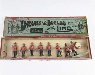 Britains #30 Drums And Bugles Of The Line