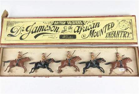Britains #38 Dr. Jameson African Mounted Infantry