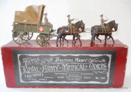 1: Britains # 1450 Royal Army Medical Corps Horse Drawn