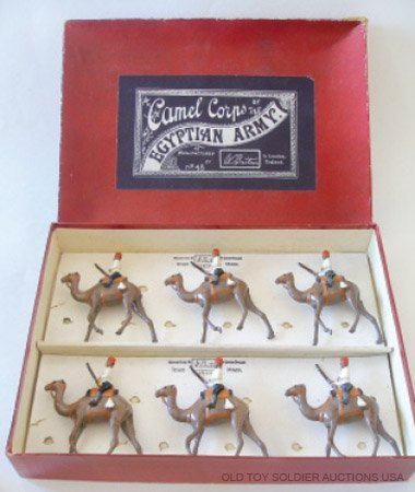 2: Britains RARE Set # 48 Egyptian Camel Corps - Boxed