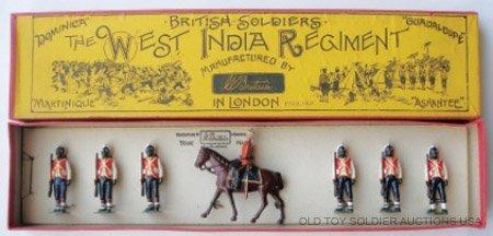 4: Britains Set #19 West India Regiment Pre War