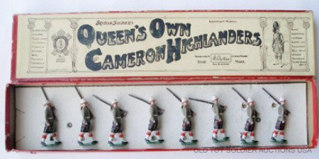 7: Britains #114 The Queens Own Cameron Highlanders