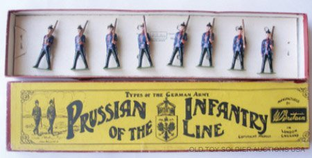 14: Britains Set #154 Prussian Infantry of the Line