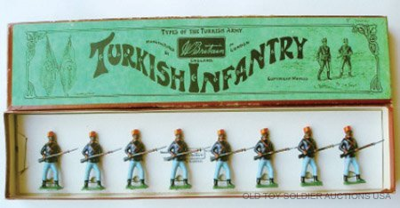 15: Britains Set #167 Turkish Infantry at the Ready