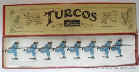 16: Britains Set #191 Turcos Charging - Boxed