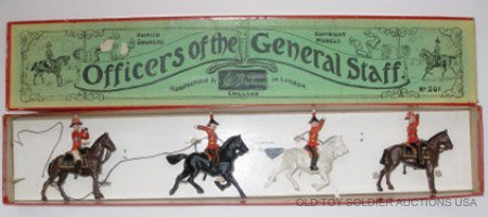 17: Britains Set #201 Officers of the General Staff