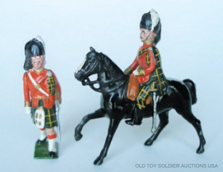 19: Britains from #437 Officers of  Gordon Highlanders